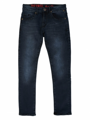 jeans blue black logo