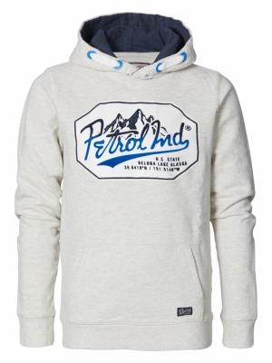 hoodie white melee logo
