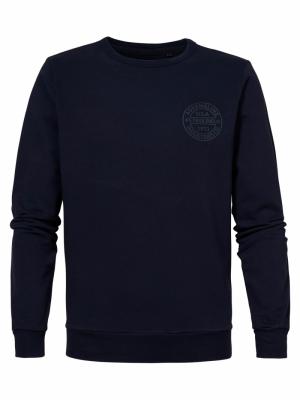 sweater deep navy logo