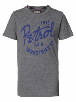 t-shirt ss light slate melee logo