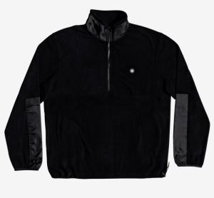 Sweater polar fleece black logo