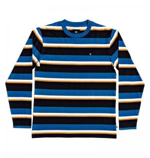 T-shirt l-s wesley stripes logo