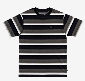 T-shirt s-s wesley stripes logo