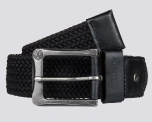 Caliban belt flint black logo