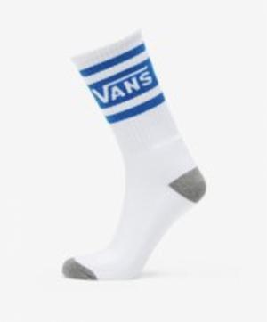socks tribe crew white-blue logo