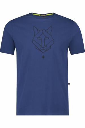 Tee husky embro logo