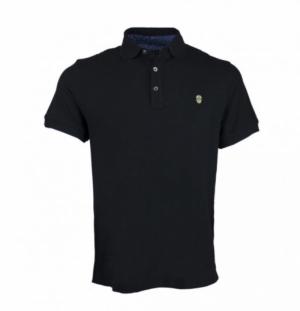 Polo golf de mexico black logo