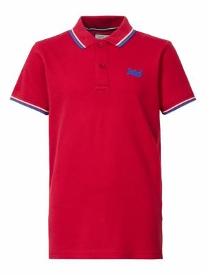 Boy-Polo fire red logo