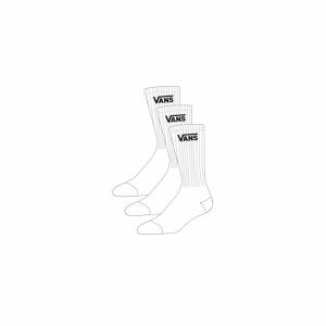 Sock 3pk classic crew  logo