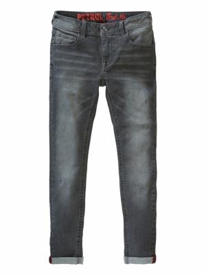 Jeans Nolan ash grey logo