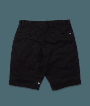 Boy-chino short frickin black