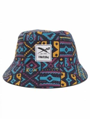 Resort Bucket hat black logo